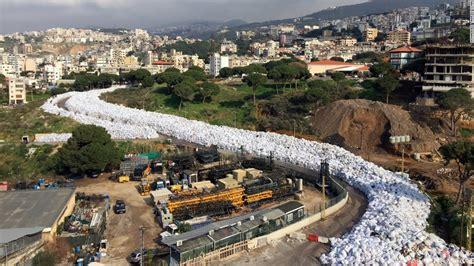 Polar Beirut Lebanon River Of Trash Chokes Beirut Suburb Cnn
