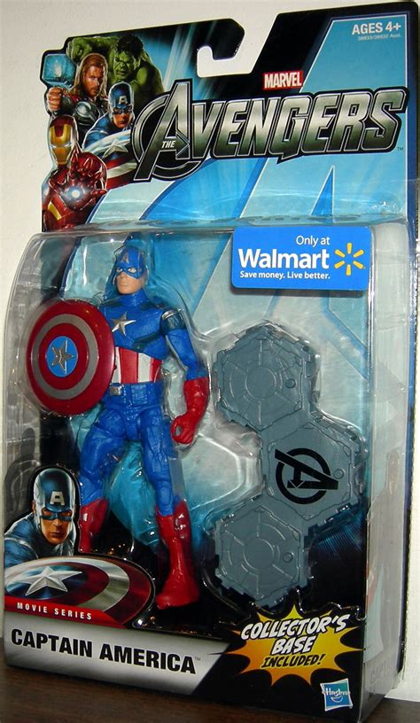 Captain America The Avenger Toys Exclusive captain america walmart exclusive figure