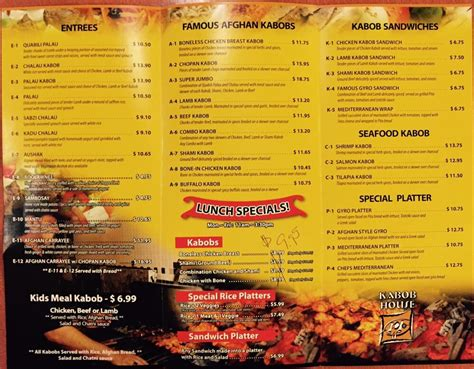 Highland House Carryout Menu 28 Images Highland House Carryout Menu House Plan