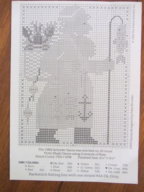 Stitch And Craft 2007 by 25 Best Ideas About Santa Cross Stitch On