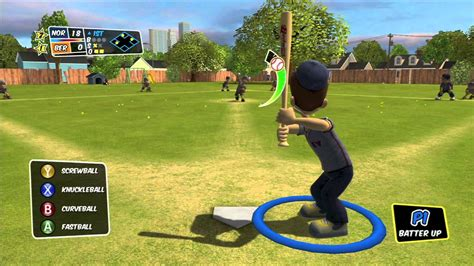 backyard sluggers backyard sports sandlot sluggers back against the wall