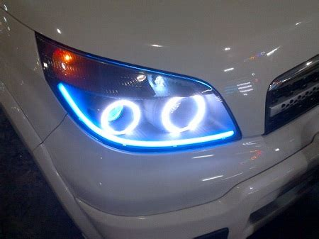 Lu Projector Grand Livina baru custom headl bixenon projector