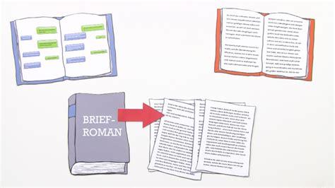 Brief Schweiz Laufzeit briefroman einfach erkl 228 rt inkl 220 bungen