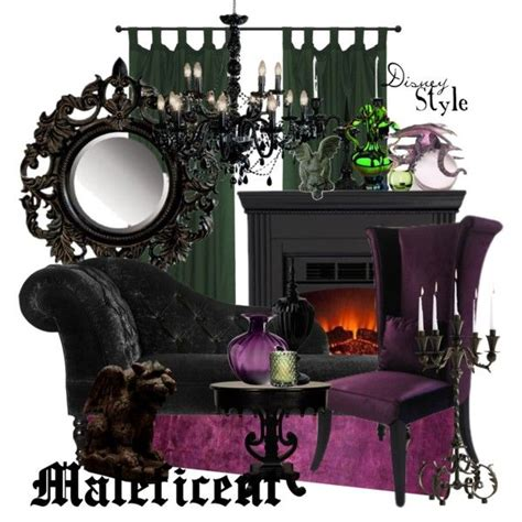 Disney Inspired Home Decor by Quot Disney Style Maleficent Quot By Missm26 On Polyvore