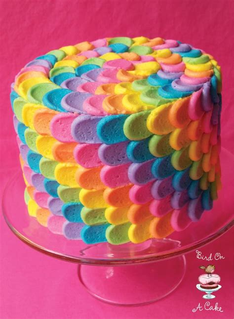 icing room rainbow cake 17 best ideas about petal cake on color cake cake frosting designs and piping