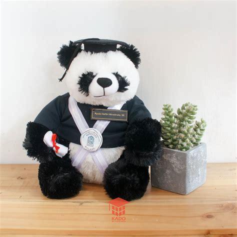 Boneka Wisuda Panda jual boneka wisuda panda murah kado wisudaku