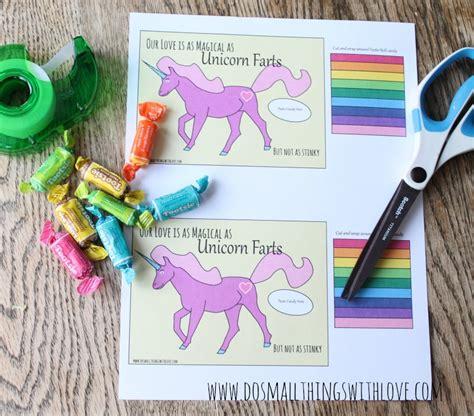 free printable unicorn valentine unicorn valentines free printable do small things with