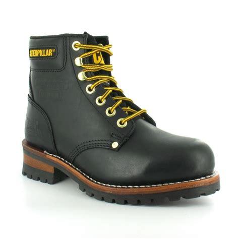 Caterpillar Frogskin Safety Boot Black 1 new s s caterpillar cat footwear for autumn