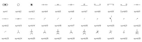 german electrical symbols chart pdf