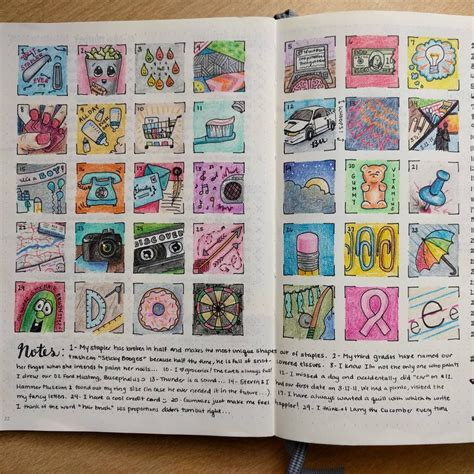 journal design pinterest a doodle a day in a bullet journal fun by smittenbyhand