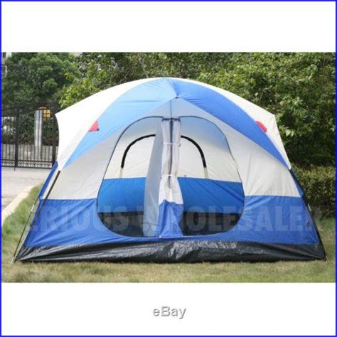 5 room tent 5 6 person cing all season outdoor 2 room domed easy family tent 71 high cing tents and