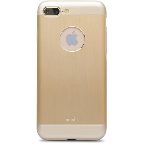h iphone 7 plus moshi armour for iphone 7 plus gold 99mo090231 b h photo