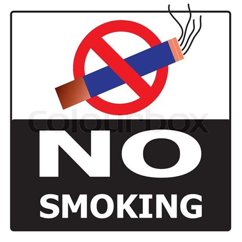 no smoking sign black background no smoking cigarette area sign for public health vector on