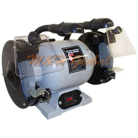 6 bench grinder wheels double 6 quot wheel bench grinder 1 2 hp 3550 rpm with