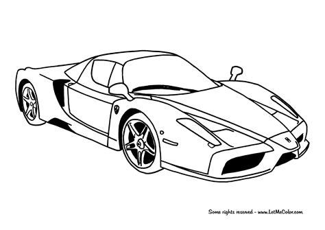 coloring pages ferrari cars coloring cars page 4 letmecolor