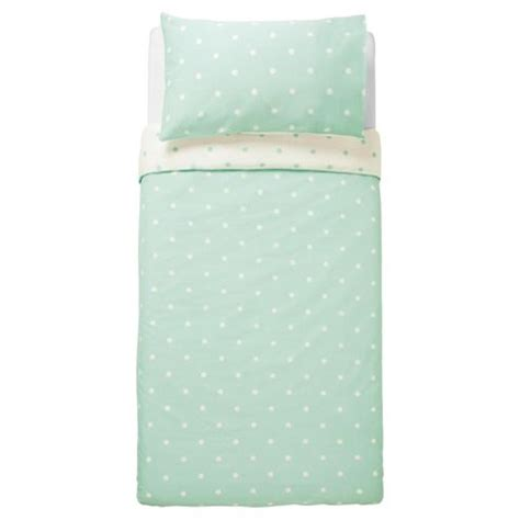 aqua tesco buy tesco basic spot print duvet set sb aqua from our