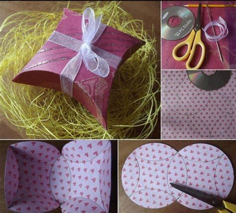 How To Make Handmade Paper Gift Boxes - handmade gift box doodads