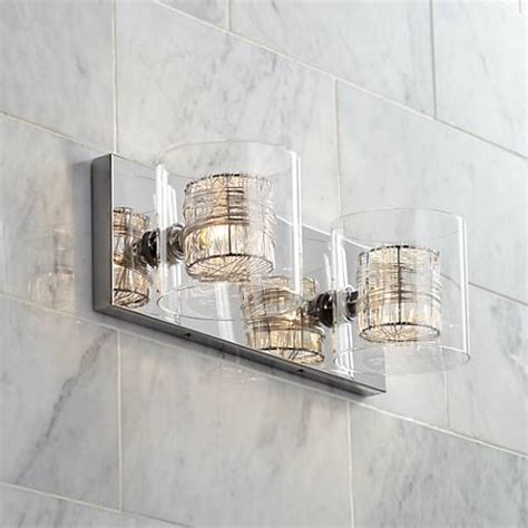 possini bathroom lighting possini euro design wrapped wire 14 quot wide bathroom light