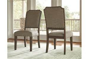 ashley furniture dining room chairs larrenton dining room chair ashley furniture homestore
