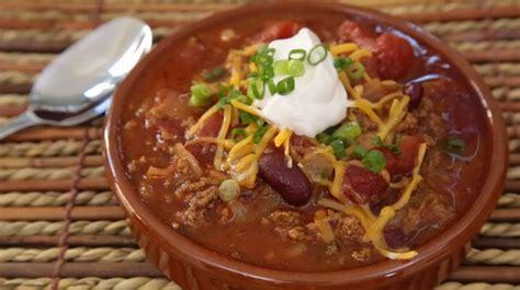 how to make chili how to make chili chili recipes allrecipes