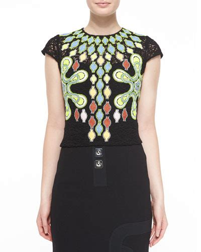 womens embroidered blouse neiman