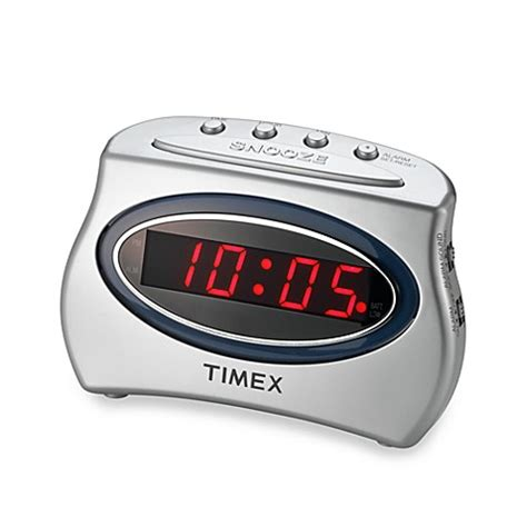 timex 174 loud alarm clock bed bath beyond