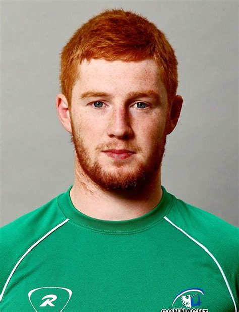 rugbi information this guy has the prettiest hair in the beautifully redheaded irish rugby player tadhg leader