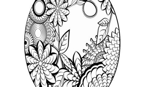 fiori da colorare e stare per bambini incredibile disegni di mandala da colorare e stare