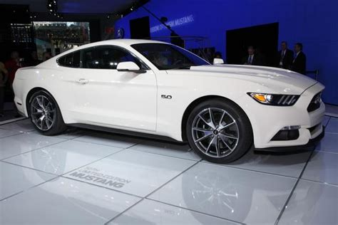 Mustang New York Auto Show 2015 by 2015 Ford Mustang 50 Year Limited Edition New York Auto