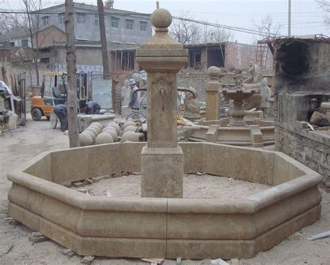 hand carved antique garden fountain for sale antiques