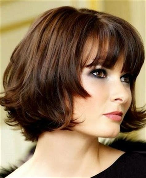 image double chin hairstyle part how hide hair short search results for hairstyles for round faces and double