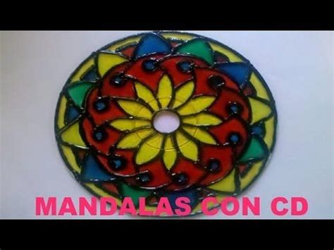 mandala pattern youtube tutorial c 243 mo hacer mandalas con cd youtube cds