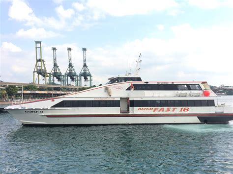 ferry harbour bay to tanah merah batam fast ferry tickets tanah merah terminal klook