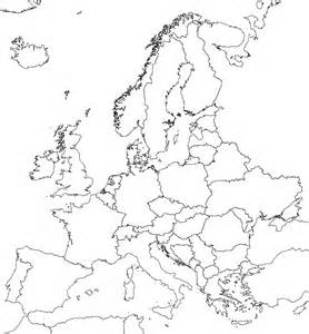 Outline Map Of Europe Physical by File Europe Nofill Black Lores Png Wikimedia Commons