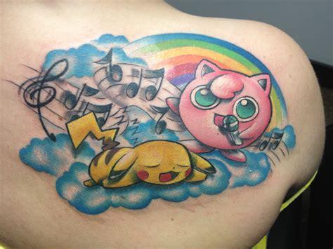 pikachu tattoo my pikachu and jigglypuff tattoos