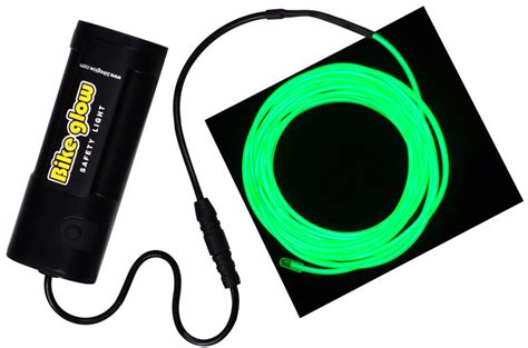 glow string lights bike glow luminescent quot string quot light wraps around your