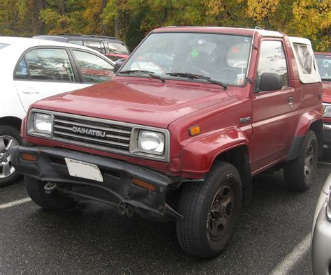 daihatsu rocky history photos on better parts ltd