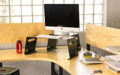 stand up desk riser stand up desk risers rogue supply