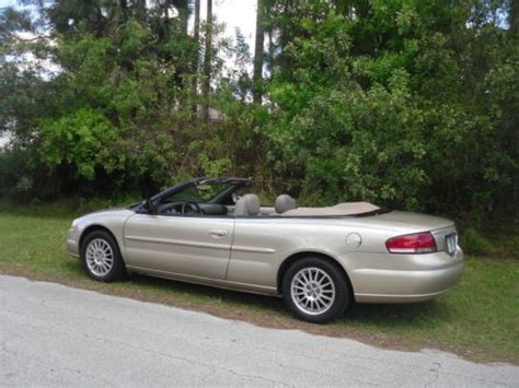 2006 Chrysler Sebring Touring Convertible by Find Used 2006 Chrysler Sebring Touring Convertible In