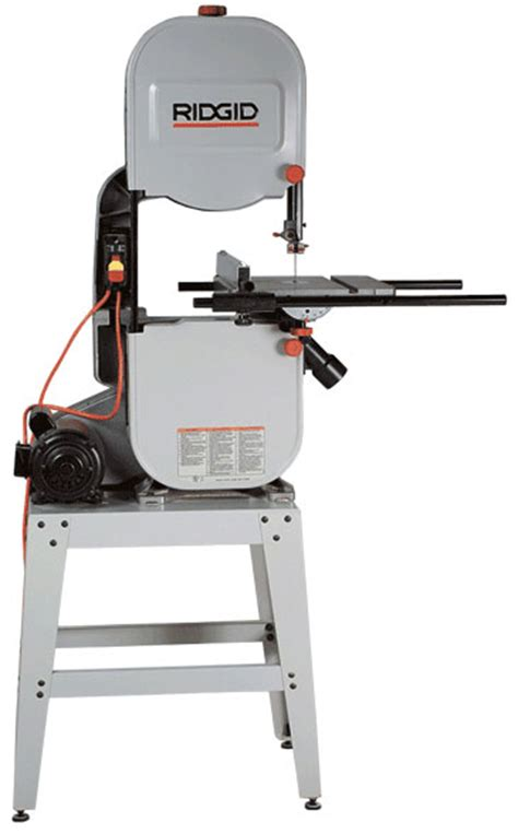 ridgid bandsaw review model bs  finewoodworking