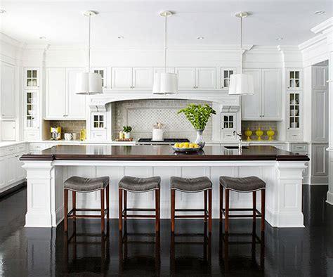 huge kitchen island 25 dreamy white kitchens