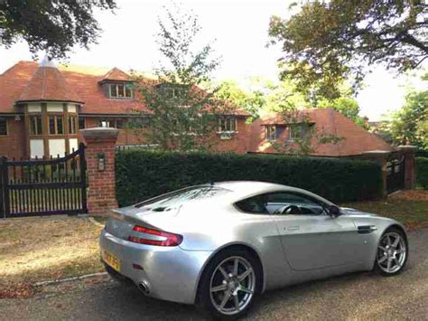 Aston Martin Vanquish Owners Manual Aston Martin Vantage V8 Titanium Silver 2 Owners Just