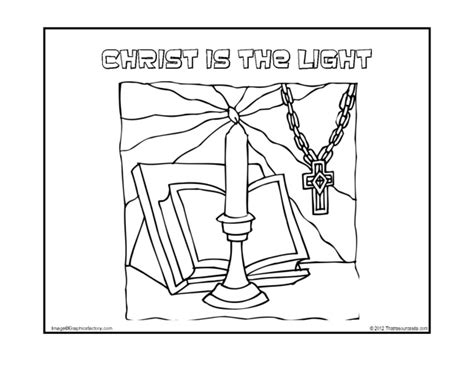victory garden coloring pages christ is the light coloring sheet