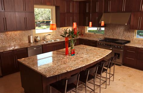 granite kitchen countertop ideas granite countertops ideas for your natural contemporary