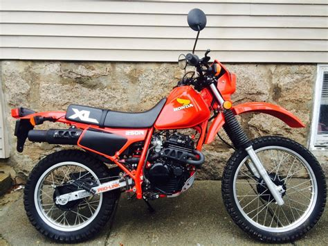 Motorrad Honda Xl 250 by 1 Owner 1984 Honda Xl250r Bike Urious