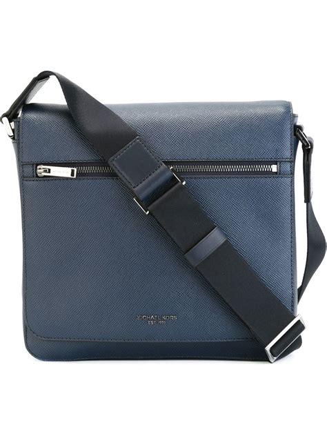 Michael Kors Mesegger Bag Tas Original Branded Bag Authentic Asli michael kors medium harrison messenger bag in blue for lyst
