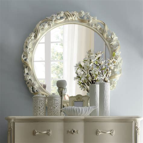 classic italian and ribbon wall mirror juliettes