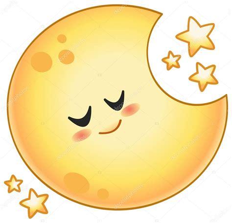 imagenes de sol y luna animadas luna de dibujos animados vector de stock 169 yayayoyo