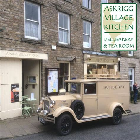 Askrigg Kitchen by Local Produce In The Dales