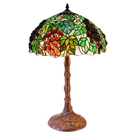 tiffany l shades with grapes tiffany style jewel grape table l 224679 lighting at